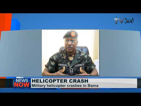 Nigeria military helicopter crashes in Borno State