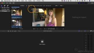 Final Cut Pro X Tutorial - Part 3 - The Browser