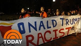 'Not My President': Anti-Donald Trump Protests Erupt Across The Country After Election | TODAY