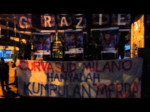 Aksi Ultras Labil, Inter Club Indonesia Moratti Pekanbaru, untuk J.Zanetti, Samuel, dan DiegoMilito.