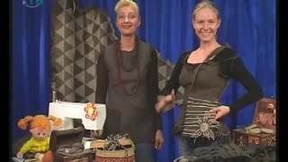 Learn the secrets of sewing greatcoat cloth bags, boxes and other gizmos