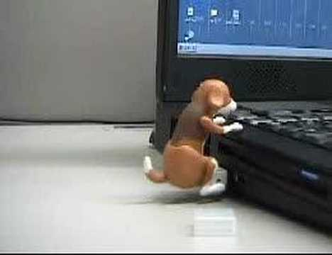 [Strapya Press Release] Humping Dog USB Gadget for PC