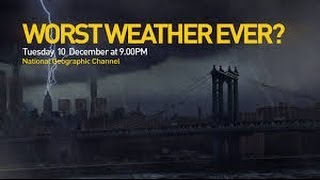 SUNY SFLK's Prof. Scott Mandia on National Geographic Worst Weather Ever