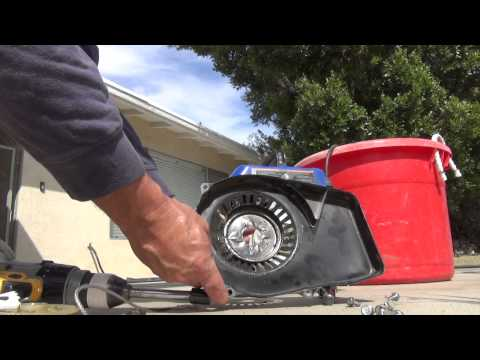 Electric Starter for any GENERATOR