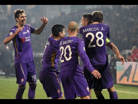 Fiorentina vs Milan 1-1 16/03/2015 GOAL Gonzalo Rodriguez