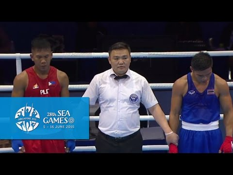 Boxing (Day 3) Men's Welterweight (69kg) Semifinals Bout 61 | 28th SEA Games Singapore 2015