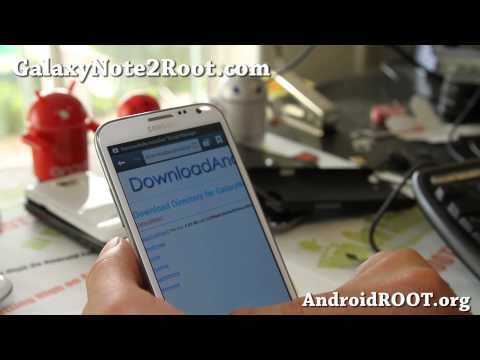 How to Store Apps on MicroSD with Rooted Galaxy Note 2! [App2SD]
