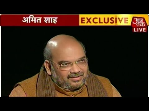 Exclusive interview with Amit Shah on Delhi elections (FULL)