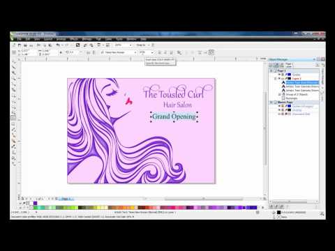 Creating a Postcard with CorelDRAW Graphics Suite X6