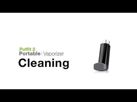 Puffit 2 Vaporizer Cleaning Tips