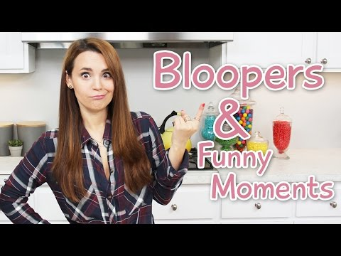 BLOOPERS AND FUNNY MOMENTS - NERDY NUMMIES