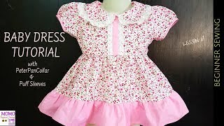 Baby Dress Sewing Tutorial - Beginners Sewing Lesson 61