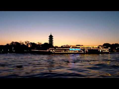 Mini footage – Ships by night (Bangkok, Thailand)
