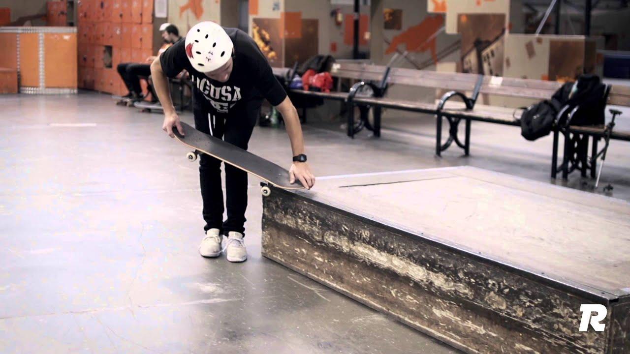 Как сделать 180 на скейте