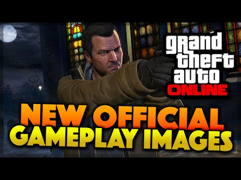 GTA 5 Online NEW OFFICIAL PC Gameplay Images Breakdown (GTA 5 Gameplay)