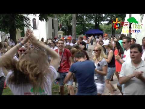 ŚDM w Łęcznej - Flash mob JMJ