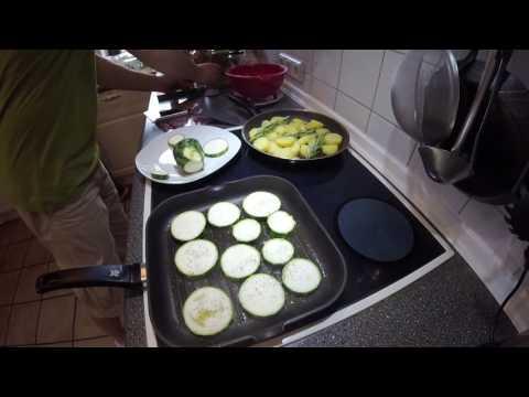 Gemüse Allerlei (Ein Mittagessen Aus Dem Garten)