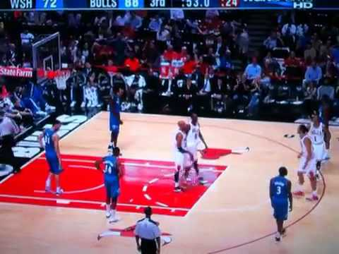 Joakim Noah dances after getting roll on free-throw pre sea