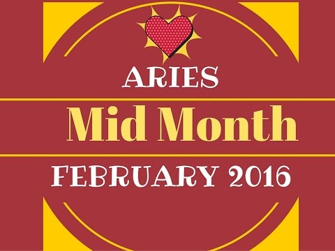 Aries Mid Month TAROT READING FEBRUARY 2016