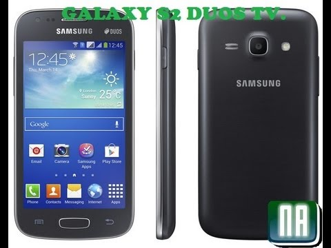 Galaxy SII Duos Tv Review (GT-S7273t)