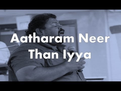Bro. Freddy Joseph - Aatharam Neer Than Iyya - Chicago Indian Church Ag video