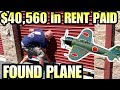 $40,560 PAID in RENT! FOUND PLANE! I bought an abandoned storage unit and found plane!