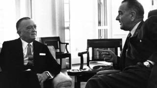 LBJ TAPES: LBJ & J. Edgar Hoover Discuss The Kennedy Assassination Cover-Up