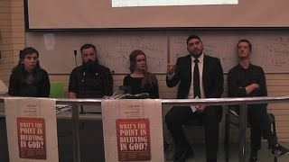 "ATHEISM vs THEISM PUBLIC DEBATE: ""What"