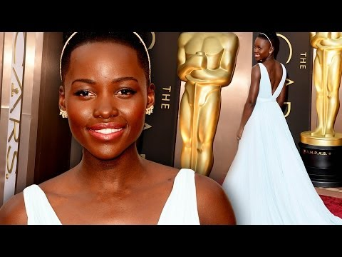Lupita Nyong'o On the Red Carpet Oscars 2014