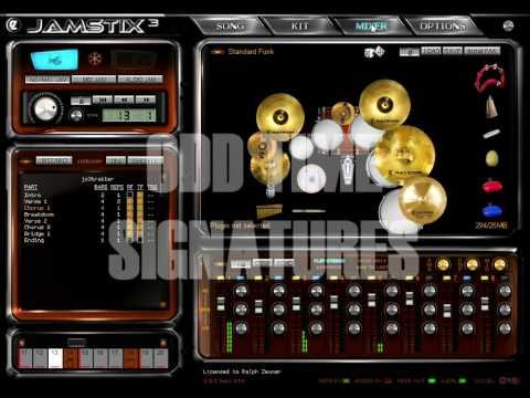 Jamstix 3 - Intelligent Virtual Drummer HD