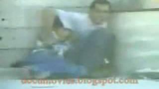 لحظة استشهاد الطفل محمد الدرة