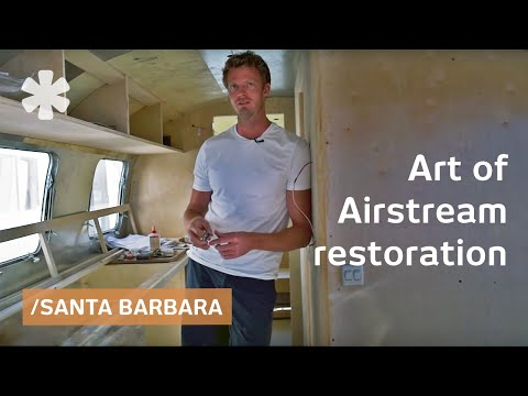 Airstream: vintage aircraft shells as luxury homes on wheels