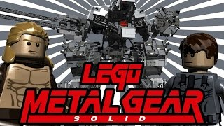 LEGO Metal Gear Solid | TwinToo Bricks