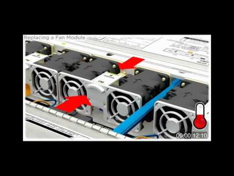 Replacing a Fan on Oracle's Sun Server X3-2