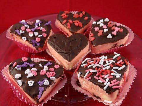 Easy Valentine's Day Cherry Fudge - Valentin napi cseresznyés süti