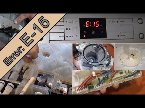BŁĄD E-15 Jak Naprawiam Wyciek W Zmywarce BOSCH SilencePlus.
