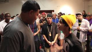 18 year old JP vs 20 yr old IV | AHAT Rap Battle
