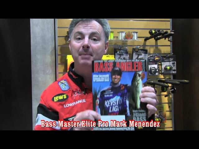 Mark Menendez for Bass Angler Magazine