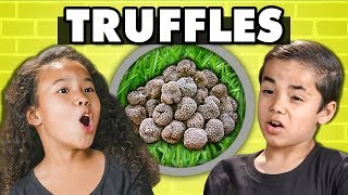 KIDS TRY TRUFFLES! (Fungus)   Kids Vs. Food