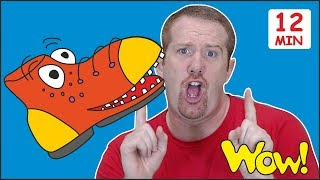 Dress Up with Steve and Maggie Stories for Kids | Magic Learning Wow English TV | Speaking English