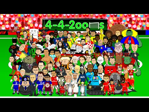 Premier League 2014/2015 NEW SEASON by 442oons (EPL football cartoon)