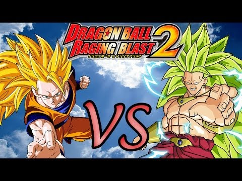 Dragon Ball Z Raging Blast 2 | Goku SSJ3 VS Broly SSJ3 - Gameplay...