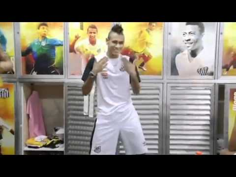 """Cristiano Ronaldo and Marcelo do the """"Ai Se Eu Te Pego"""" Dance move after scoring a goal and Neymar does the moves in the changing room before match."""