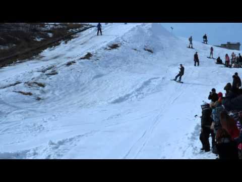 Костюм мера, закрытие сноуборд сезона 2015