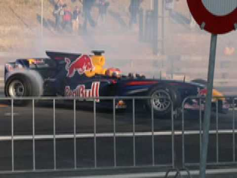 Red Bull F1 Racing Show Run mit Neel Jani am Westfest