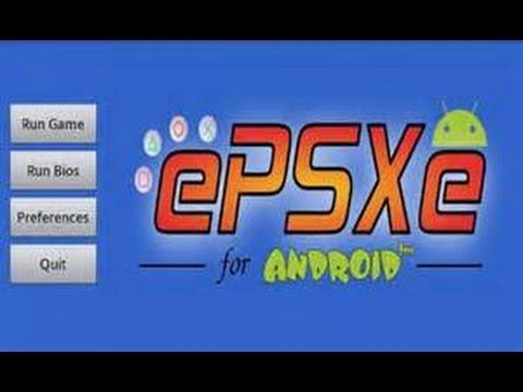 Скачать ePSXe на Андроид