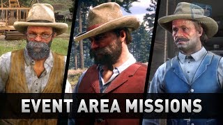 Red Dead Redemption 2 - All Evolving Area Events & Missions