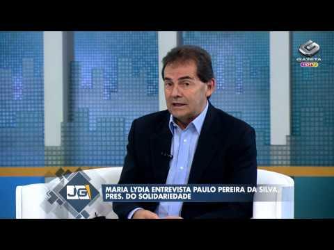 Jornal da Gazeta - Entrevista com Paulo Pereira da Silva pres do Solidariedade 170214