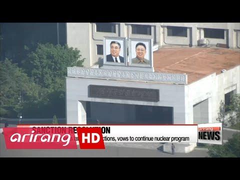 North Korea denounces latest UN sanctions against Pyongyang