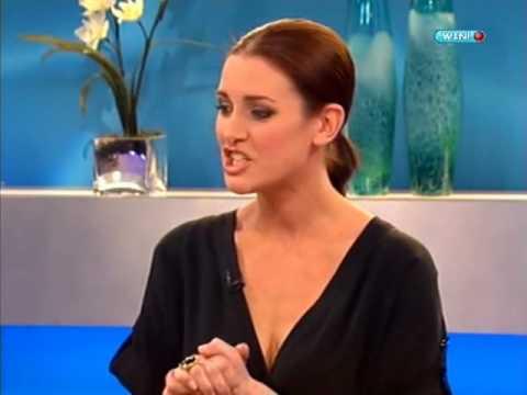Kirsty Gallacher on Loose Women (Feb 20 2009)